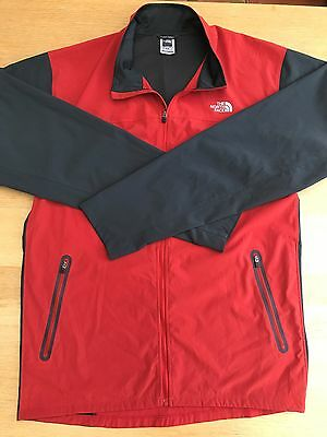 The North Face Flight Series Ultra Lightweight Red / Grey Shell Jacket - Size Xl
