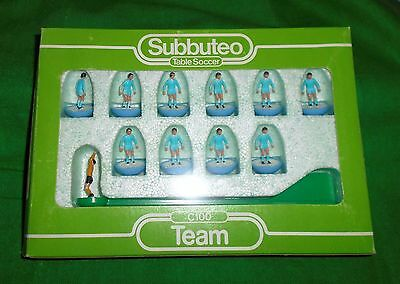 RARE SUBBUTEO FOOTBALL C100 LIGHTWEIGHT TEAM MANCHESTER CITY Ref 449