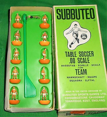 RARE SUBBUTEO FOOTBALL C100 HEAVYWEIGHT TEAM BLACKPOOL Ref 13