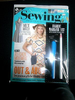 Simply Sewing Magazine Issue 8 With Free Gift (new)