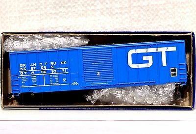 HO Roundhouse NOS GT Grand Trunk Western 50' Single Door Boxcar built Kit