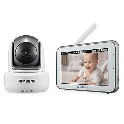 """Samsung SEW-3043WN BrightVIEW Duo HD Video Baby 5"""" Monitor DISPLAY"""