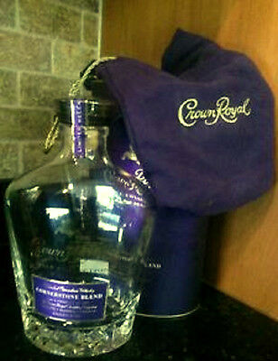 Crown Royal Cornerstone Blend Noble Collection Bag Bottle Case- EMPTY - $25 OFF