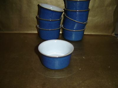 denby imperial blue ramekin dish / bowl (several available)
