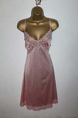 Beautiful Vtg St Micheal Pink Full Slip Size 14
