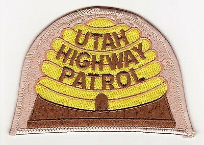 Utah Highway Patrol Police Patch Never Used Clean Free Shipping