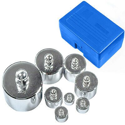 HFS(R) Scale Balance Calibration Weight Set - 10-1000G 8Pc Set With Case