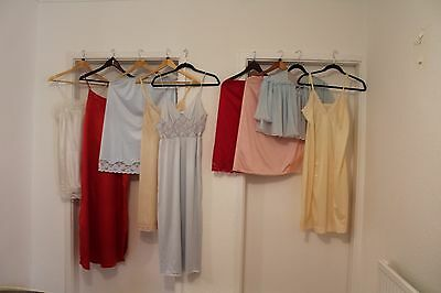 Ladies Vintage/modern Night Dress/ Full Slip/half Slip Size S/m