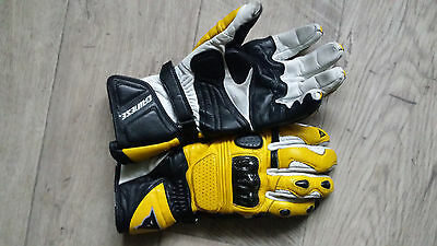 Gants Dainese Moto Cuir Comme Neuf Taille M