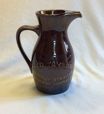 Old Taylor Kentucky Straight Bourbon Whiskey Pitcher