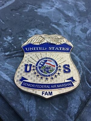 Federal Air Marshal/TSA/Police/LAW/NEW non-NYPD/military 2.5 inch coin