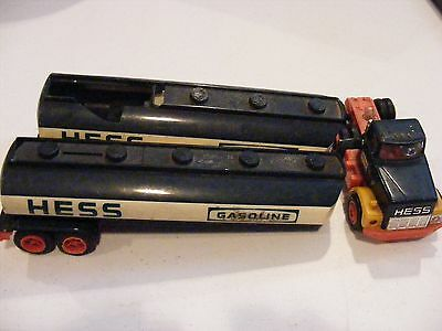 Lot of (2) Early Hess Tankers/1 Tractor for parts