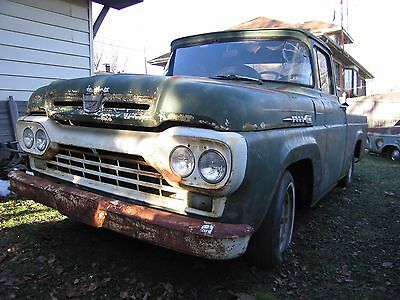 1960 Ford F-100  1960 Ford F100 Short Wide Bed