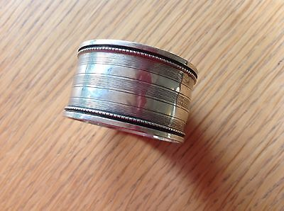 Antique / Vintage Sterling Silver Napkin ring