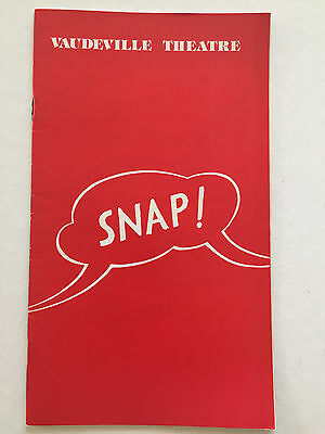 Snap! -1974 London Playbill - Maggie Smith, Barrie Ingham, Ray Brooks