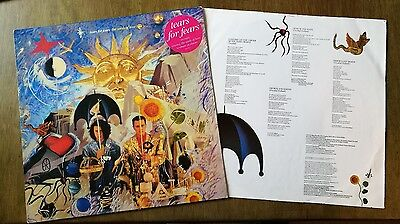 Tears For Fears The Seeds Of Love Lp Record Vinyl Album