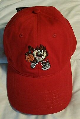 Tasmanian Devil Taz Hat Cap Dad Hat Strap Back Stitch Looney Tunes New Cartoon