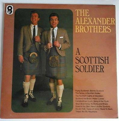 "The Alexander Brothers ""A Scottish Soldier"" Vinyl LP"