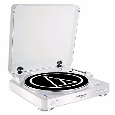 Audio-Technica AT-LP60WH-BT Turntable with Bluetooth White ATLP60WHBT