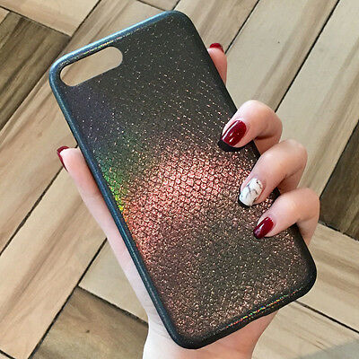 Luxury Ray Glitter Sparkle Bling Pattern Silicone Case Cover for iPhone 7 4.7''