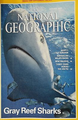 National Geographic - January 1995