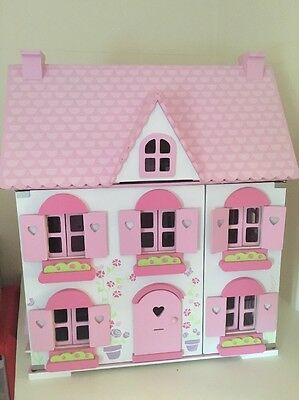 Early Learning Centre Rosebud Cottage Dolls House With Accessories