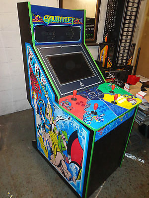 GAUNTLET THEMED 4 player Machine MAME SYSTEM INSTALLED