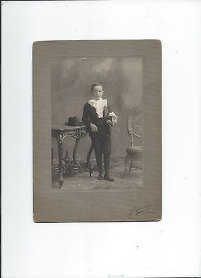 Joseph Beaudry, De Quebec, Photographer, Young Boy With Hat, Antique Furnitures