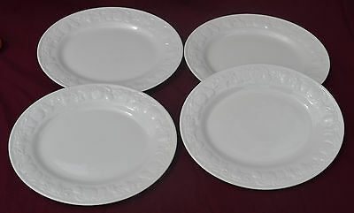 Bhs Lincoln? Oval Steak Plates X 4...no Stamp
