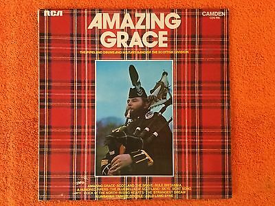 AMAZING GRACE The Pipes & Drums & Military Band Of The Scottish Division Record