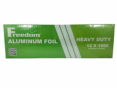 Freedom Aluminum Foil Heavy Duty 12 x 1000 (1 Roll)