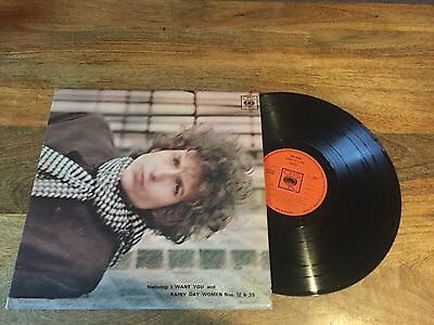 Bob Dylan - Blonde on Blonde Vinyl LP Record [Early Pressing] 1966 VG Condition