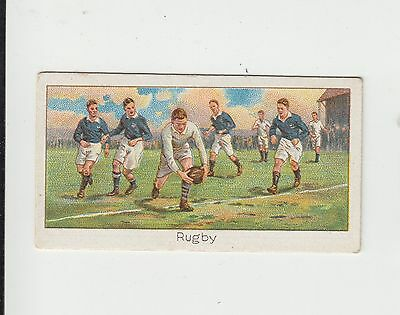 Rugby Union : England v Scotland : UK cigarette card 1925