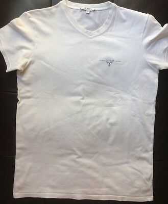 T.Shirt blanc GUESS - Taille 14 ans