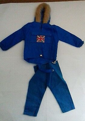 Vintage action man artic exploerer jacket and trousers  lot