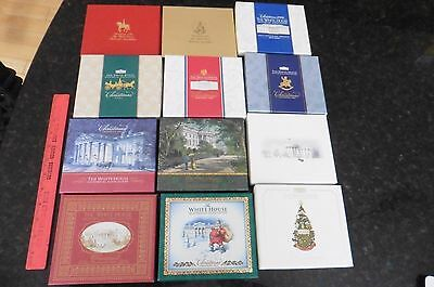 Lot of 16 White House Historical Association Christmas Ornaments in boxes