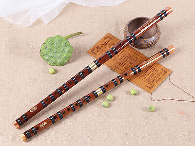 Traditional Handmade Chinese Bamboo Flute Musical Instrument In E Key