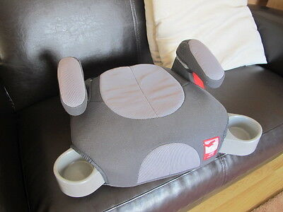 Grey Car Booster Seat Graco Pedic child Children
