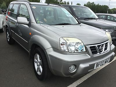 2002 Nissan X-Trail 2.0 Se+ Full Leather,climate,alloys,cruise,alloys,roof,cat D