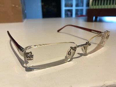 Chanel Genuine Rimless Prescription Glasses Frames Lenses