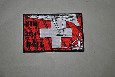 Swiss Airforce Nato Tiger Meet 2014  Original Rare Used Patch