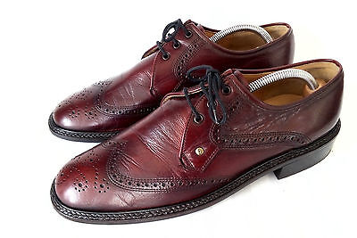 Lord Excellent Full Brogue Business Herrenschuhe Leder Oxblood 10 Gr 44 44,5 TOP