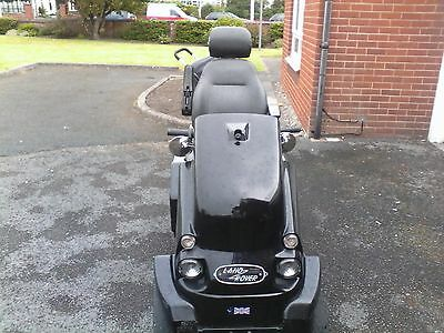 Black Tramper mk 11 extras include swivel seat and 12volt power supply
