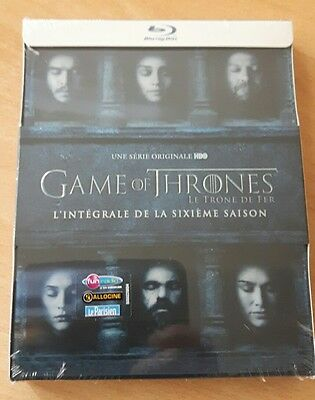 Game of thrones saison 6 blu ray comme neuf