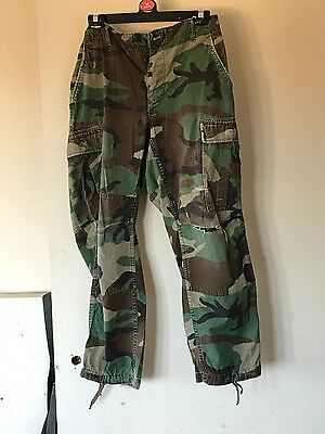 Genuine camouflage trousers vintage military army