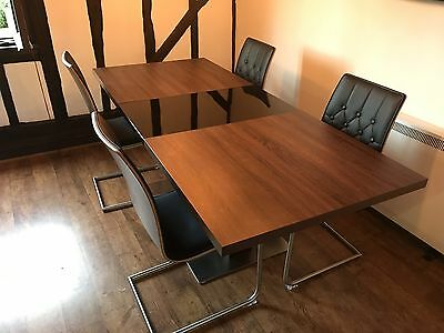 Harveys Vieux Extending Dining Table And 4 Chairs