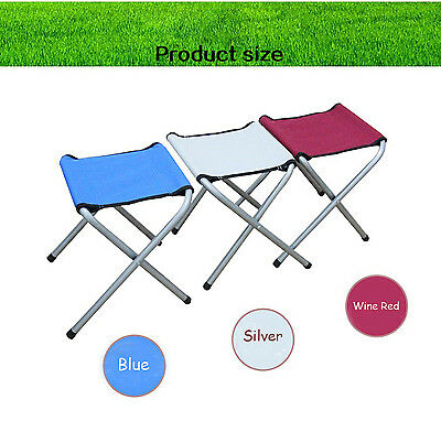 Folding Portable Camp Chair Outdoor Fishing Foldable Beach Hiking Picnic Stool