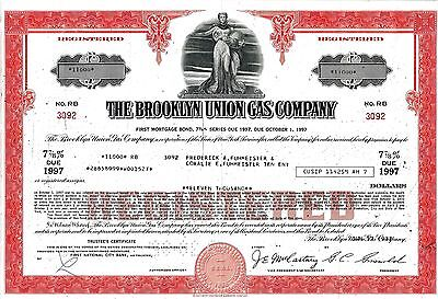 The Brooklyn Union Gas Company, 7 7/8% First Mortgage Bond due 1997 (11.000 $)