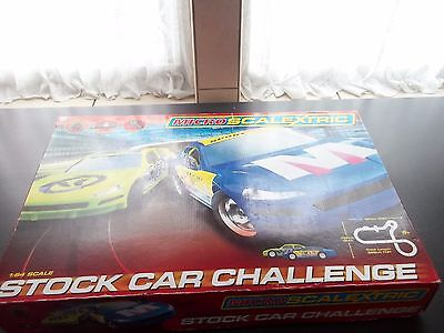 Micro Scalextric 1:64 scale Stock Car Challenge boxed set