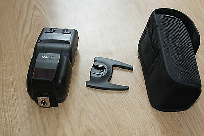 Canon Speedlite 430EX III-RT 430 Shoe Mount Flash with Soft Case VGC